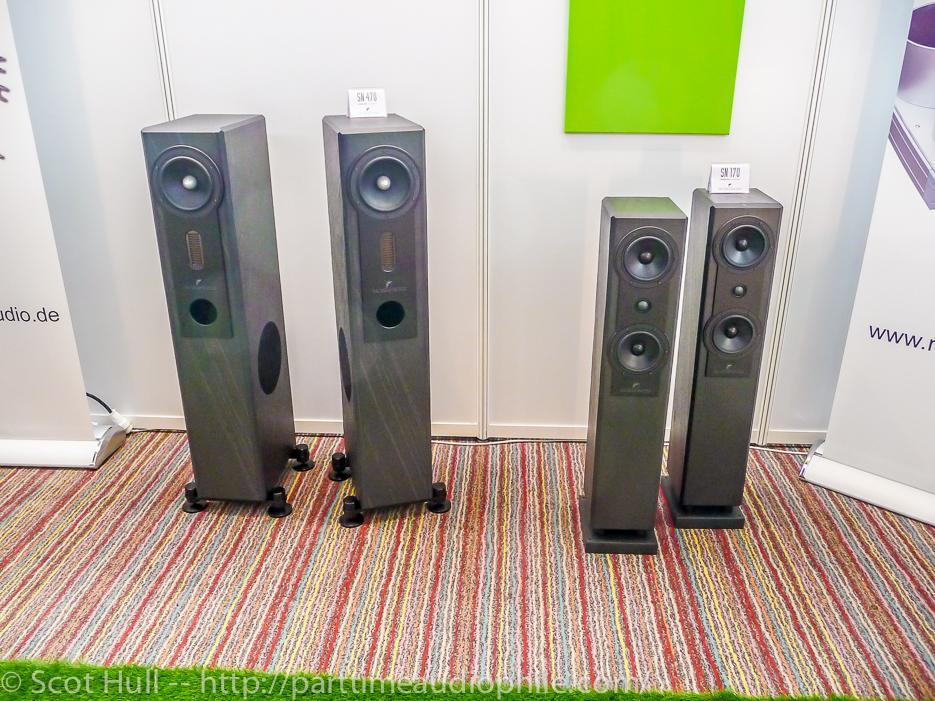 High End Swiss 2014: Fischer & Fischer Speakers and Mudra Akustics