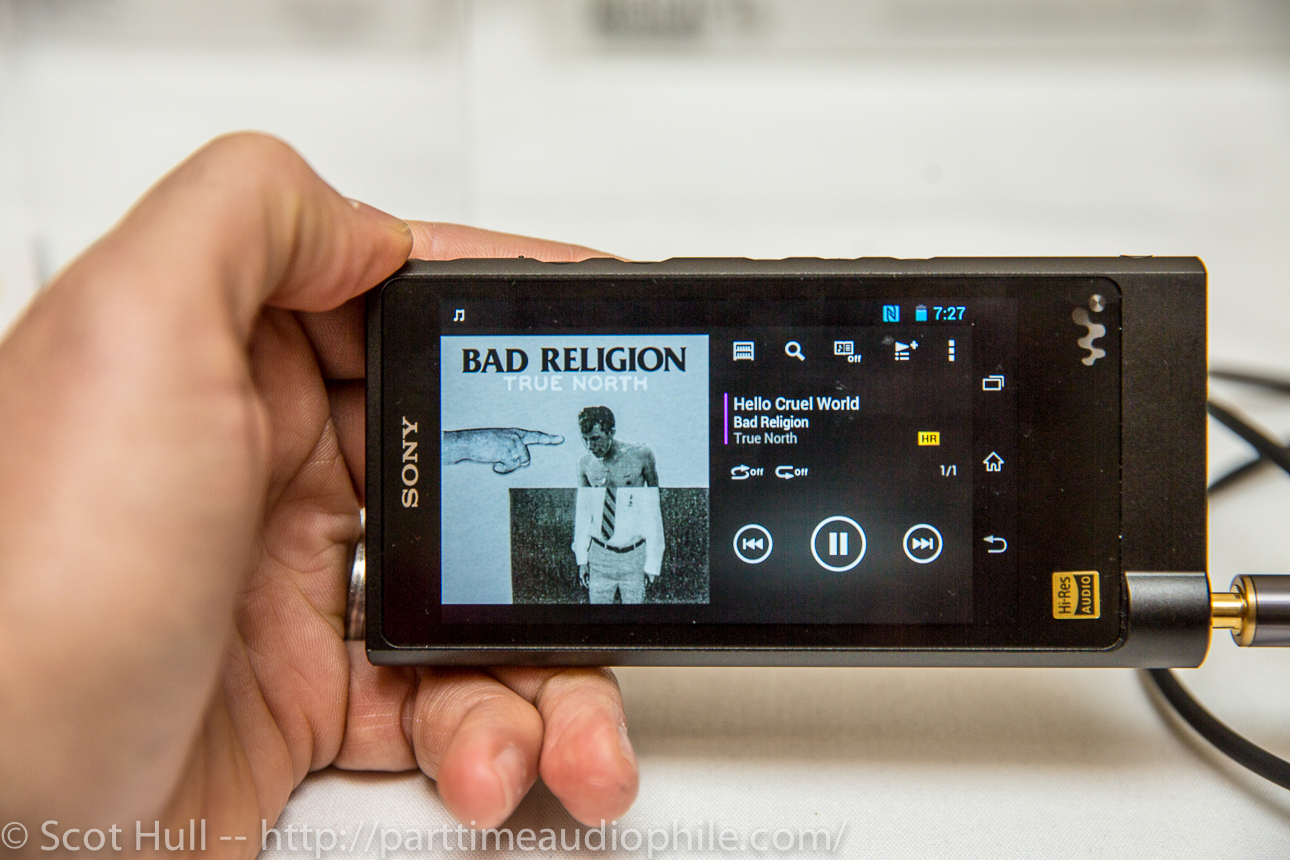 CES 2015: Sony's High Resolution Walkman is totally lux