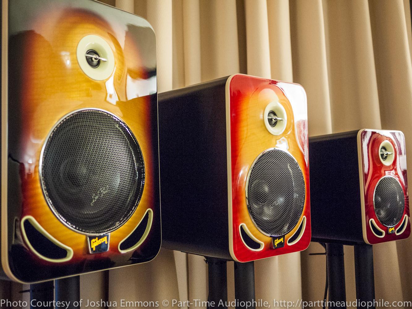 AXPONA 2015: Gibson Les Paul Reference Monitors