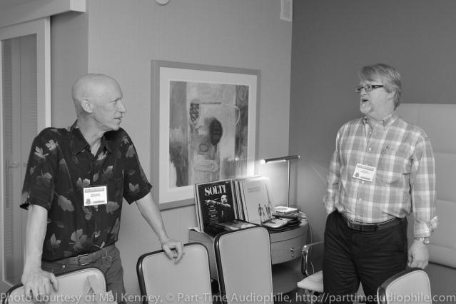 Warren Jarrett and David Cope argue about the value of VTA